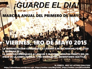 Pioneer Square (Save the date Spanish)